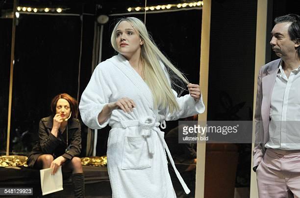 Deutsches Theater Kammerspiele Berlin play Donna Davison by Thomas Jonigk directed by Hanna Rudolph stage Hansjoerg Hartung actors Katharina...