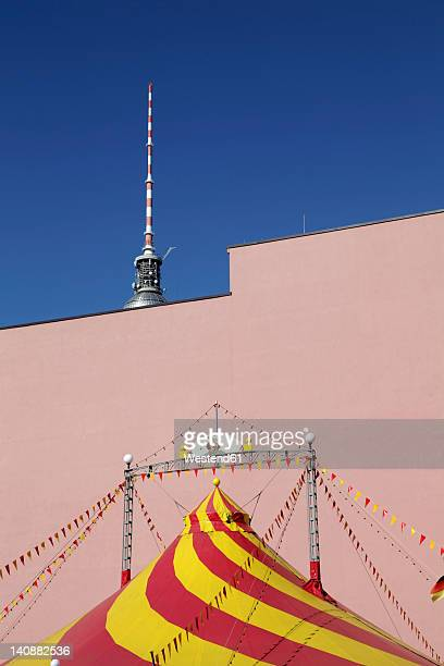 Germany, Berlin, TV tower with circus