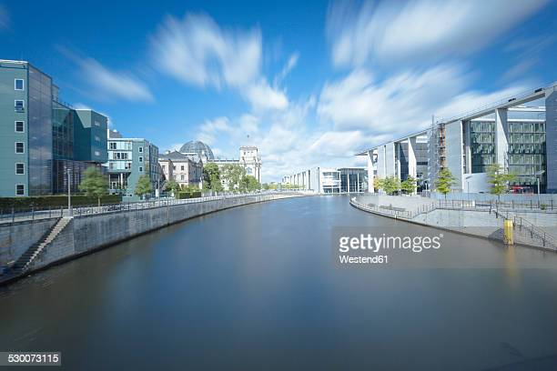 Germany, Berlin, view to Spree River and government district