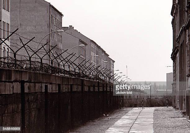 Germany Berlin Wedding - Berlin Wall at Boyenstrasse