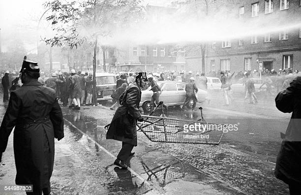 Germany - Berlin - West-Berlin: heavy rioting during a demonstration of students in favour of Horst Mahler