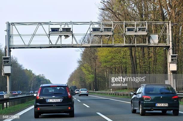 Germany Berlin Zehlendorf - motorway A115, toll bridge