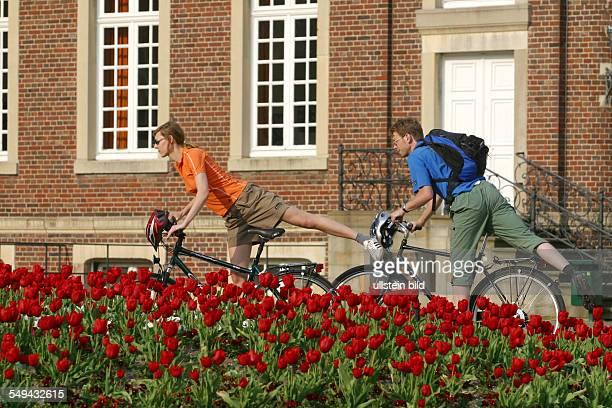 Bicycle tour through the Muensterland Nordkirchen Castle