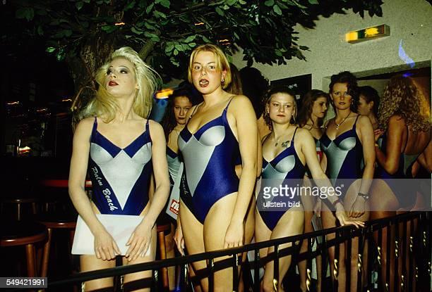 DEU Germany Bottrop MissBottrop contest in the discotheque Exitus