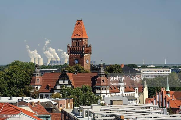 germany, brandenburg, cottbus, district court - cottbus stock pictures, royalty-free photos & images