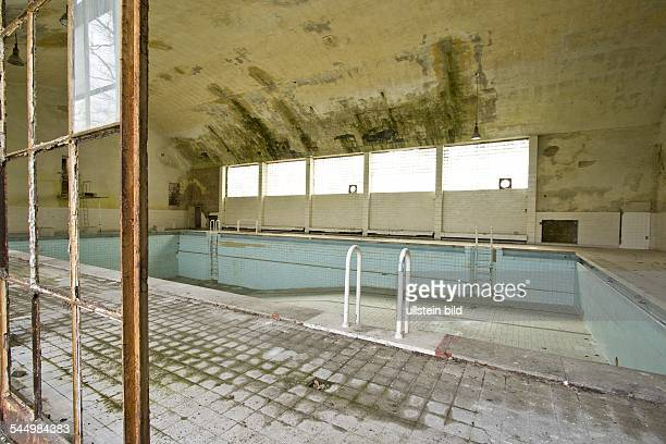 Germany Brandenburg Elstal Deserted houses for the athletes in the former Olympic Village