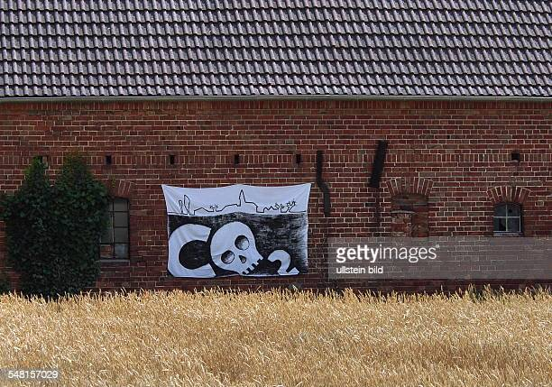 Germany Brandenburg protest against CO2 in the Oderbruch