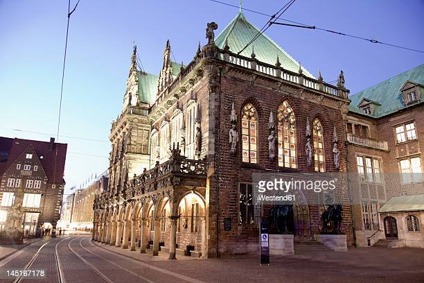 Germany, Bremen, View of town hall