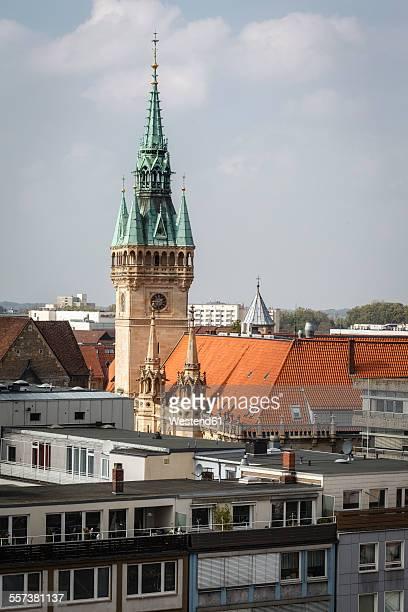 Germany, Brunswick, view to vity hall
