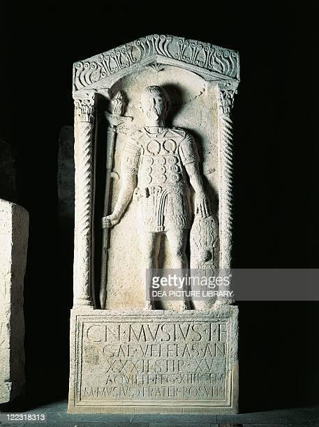 Germany castrum of Mainz Funerary stele of Gneo Misius