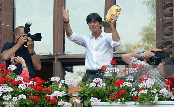 Germany coach Joachim Loew during a reception in his honour on September 9, 2014 in Freiburg im Breisgau, Germany.
