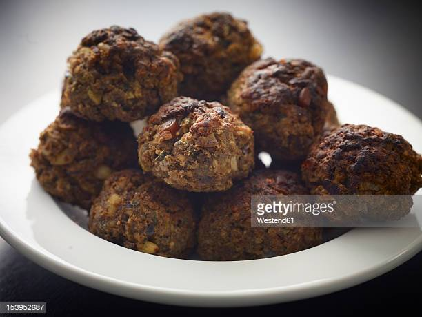 Germany, Cologne, Meatballs in plate, close up