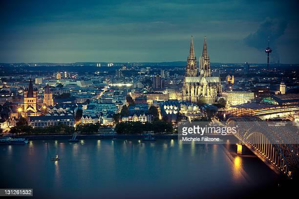 Germany, Cologne Skyline