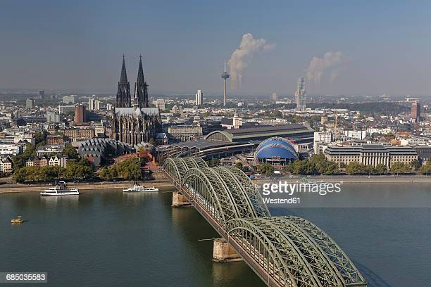Germany, Cologne, view to the city from above
