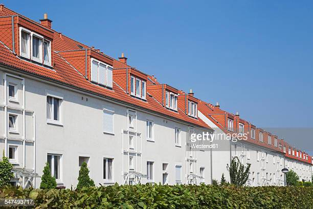Germany, Cologne Widdersdorf, terraced multi-family houses