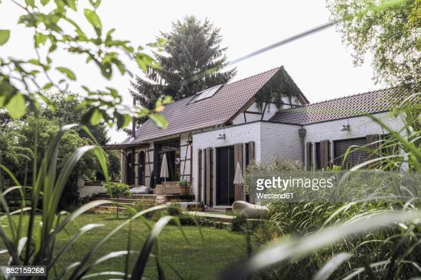 Germany, Country house with garden