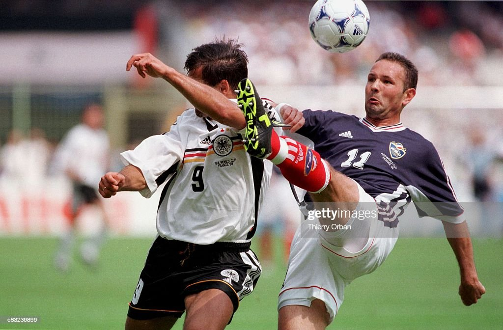 1998 Soccer World Cup : News Photo
