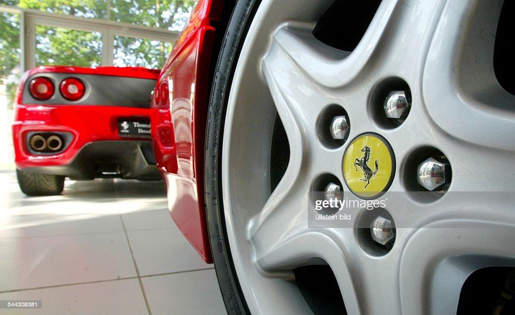 6ff90c1a1c Germany  detail of a Ferrari 512 TR sports car in a car dealership   News