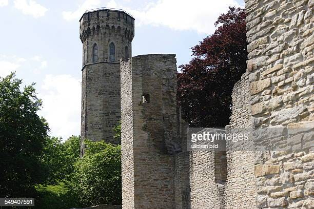 City district Syburg castle of Syburg and the Vincke tower