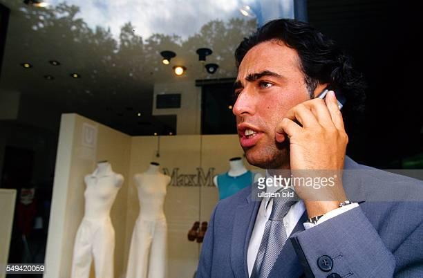 Germany, Duesseldorf: Arslan Holding.- The manager Mustafa Arslan