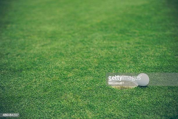 Germany, Duesseldorf, golf ball