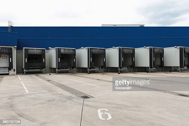 Germany, Duesseldorf, loading bays of a furniture store