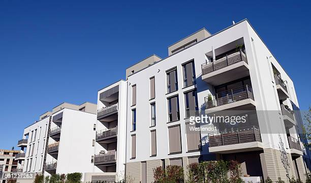 Germany, Duesseldorf, modern apartment house