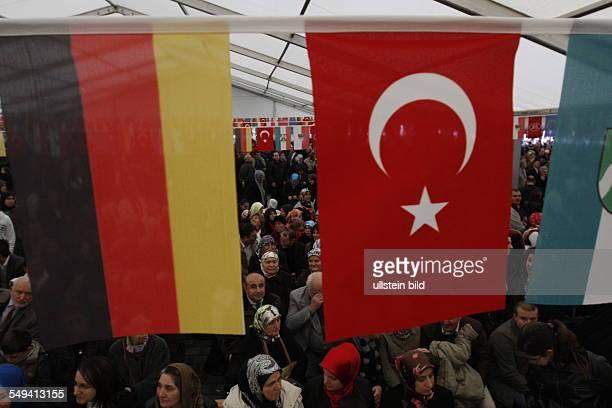 Germany Duisburg Marxloh official opening of the Merkez mosque Merkez Camii