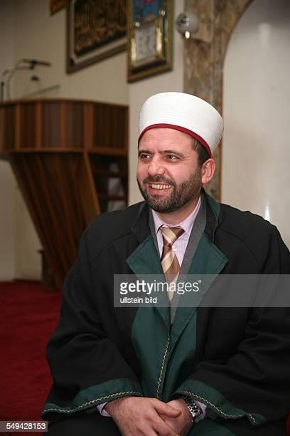 Germany Duisburg Marxloh Turkisch community the imam of the DITIB Merkez mosque Sadik Caglar 41 years old The imams of the DITIB stay in Germany for...