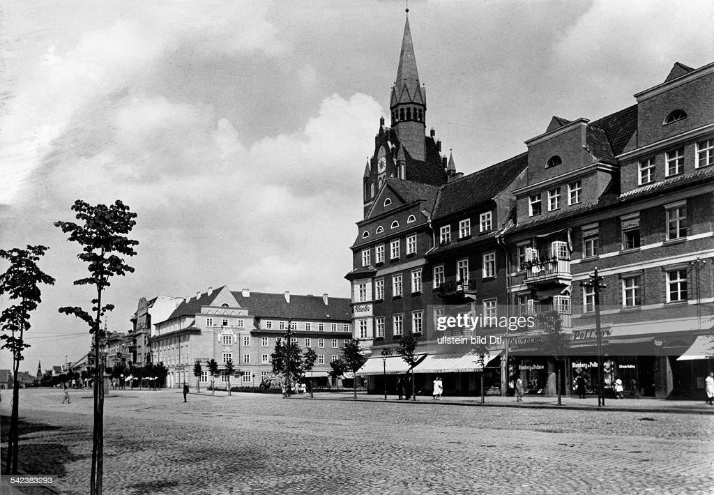 Germany East Prussia Lyck Elk Market 1930s