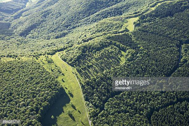 germany, eichsfeld, german green belt, frontier between hesse and thuringia - thuringia stock pictures, royalty-free photos & images