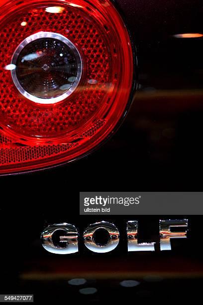 EMS Essen Motor Show International fair for automobiles tuning and classics rear lights of a GOLF