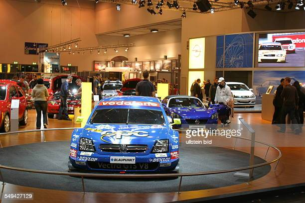 EMS Essen Motor Show International fair for automobiles tuning and classics presentation at the stand of Opel motorsport