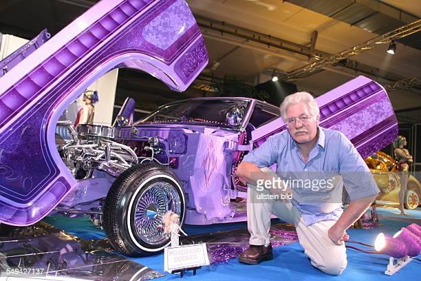 Germany, Essen: EMS - Essen Motor Show.- International fair for automobiles, tuning and classics; presentation of special models.