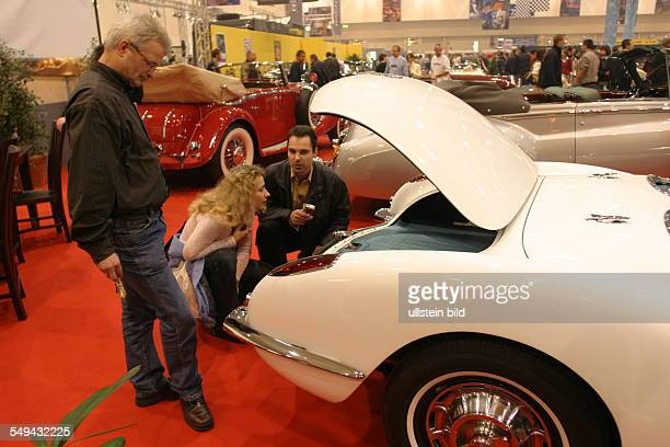 EMS Essen Motor Show International fair for automobiles tuning and classics an Oldtimer presentation