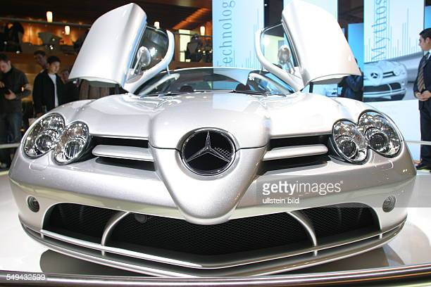 EMS Essen Motor Show International fair for automobiles tuning and classics presentation at the stand of MercedesBenz