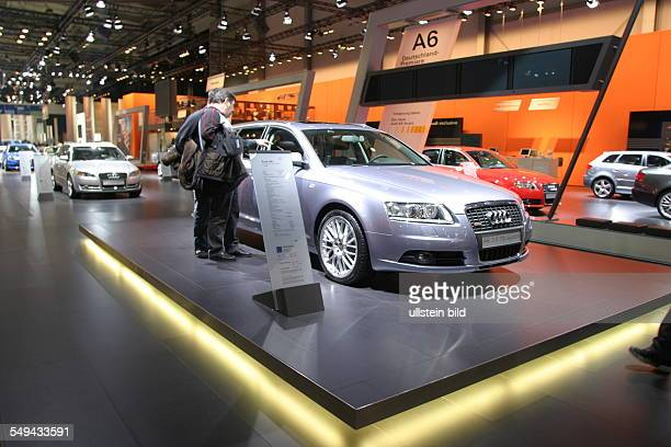 EMS Essen Motor Show International fair for automobiles tuning and classics presentation at the stand of Audi A6