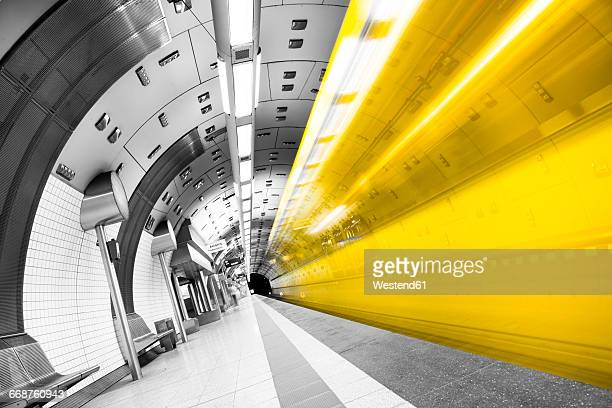 Germany, Essen, indoor view of underground station