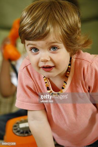 DEU Germany Essen portrait of a baby girl