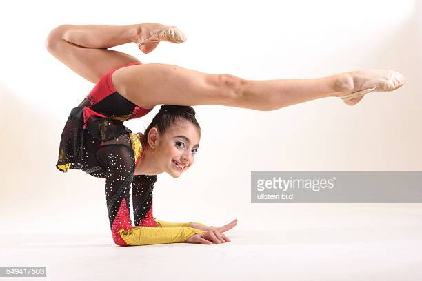 DEU Germany Essen Rana Tokmak from Castrop Rauxel 11 years old She is turkish origin and has a German passport She is dancing ballett and rhythmic...