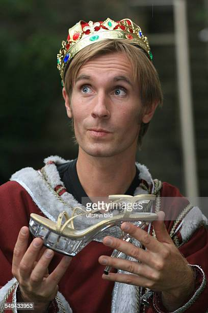 DEU Germany Fairytales of the brothers Grimm Dressed up actor during a performance