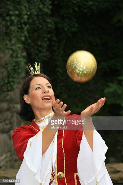 DEU Germany Fairytales of the brothers Grimm Dressed up actress during a performance