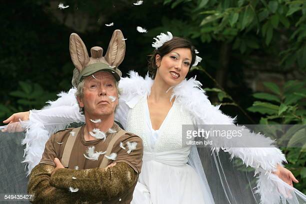 DEU Germany Fairytales of the Grimm brothers Dressed up actors
