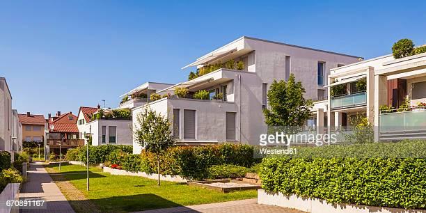 Germany, Fellbach, passive house development area