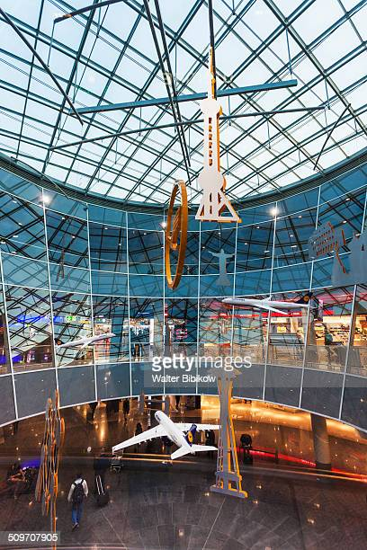 germany, frankfurt am main, terminal 1 - frankfurt international airport stock pictures, royalty-free photos & images