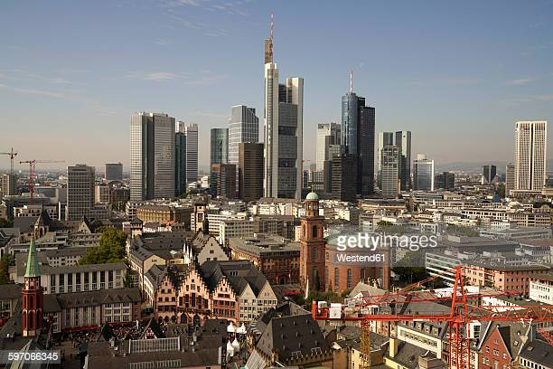 Germany, Frankfurt, cityscape with financial district