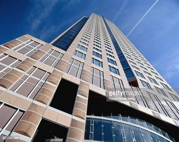 Germany, Frankfurt, fair tower