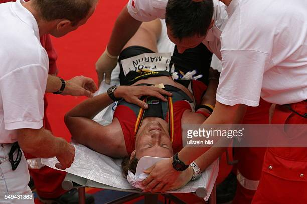 Ironman Medical care for one of the particiants