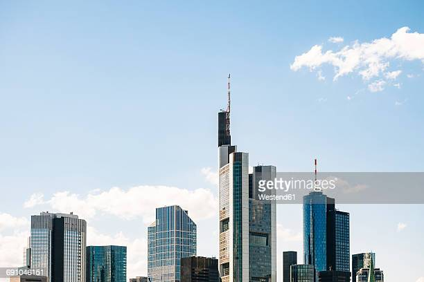 germany, frankfurt, view to skyline - frankfurt main stock pictures, royalty-free photos & images