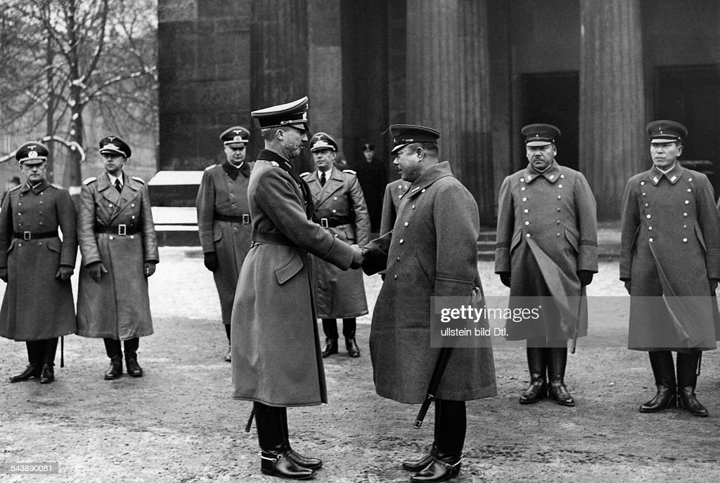 Image result for German general meets Japanese General Yamashita
